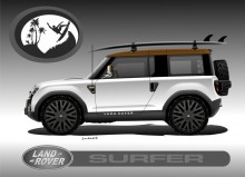 LAND ROVER SURFER